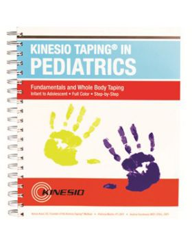 Livro Kinesio taping in pediatrics, fundamentals and whole body taping
